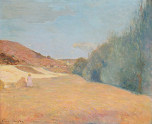 Art Prints of Vetheuil, France by Charles Conder