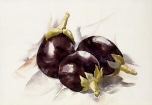 Art Prints of Eggplants by Charles Demuth