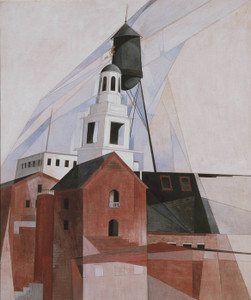 Art Prints of Lancaster in the Province No. 2 by Charles Demuth