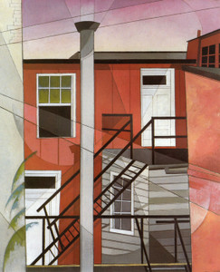 Art Prints of Modern Conveniences by Charles Demuth