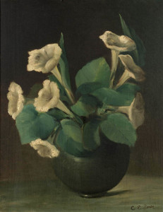 Art Prints of A Bowl of Morning Glories by Charles Ethan Porter