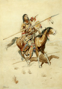 Art Prints of Brave by Charles Marion Russell