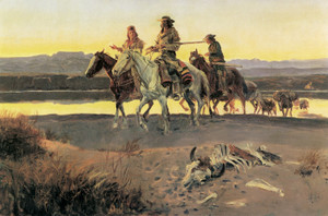 Art Prints of Carson's Men by Charles Marion Russell