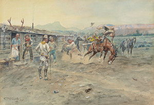 Art Prints of The Tenderfoot by Charles Marion Russell