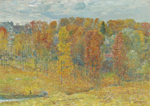 Art Prints of Autumn by Childe Hassam