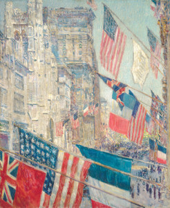Art Prints of Allies Day, May 1917 by Childe Hassam