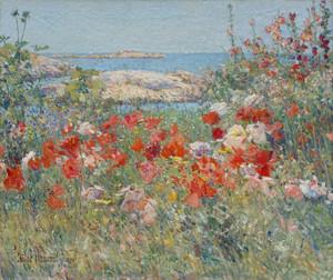 Celia Thaxter's Garden by Childe Hassam | Fine Art Print