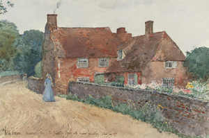 Art Prints of Broadstairs Cottage by Childe Hassam