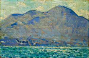 Art Prints of Mount Beacon at Newburgh by Childe Hassam