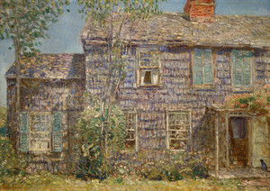 Art Prints of Old House, Easthampton, Long Island by Childe Hassam
