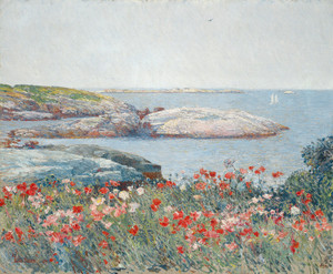 Art Prints of Poppies, Isle of Shoals by Childe Hassam