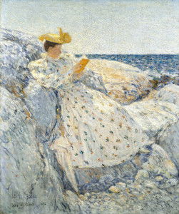 Art Prints of Summer Sunlight by Childe Hassam