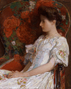 Art Prints of The Victorian Chair by Childe Hassam