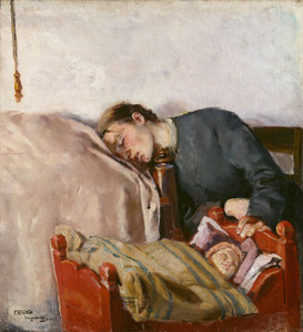 Art Prints of Mother and Child by Christian Krohg