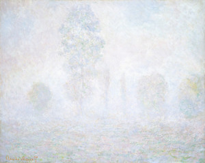 Art Prints of Morning Haze by Claude Monet