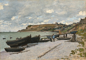 Art Prints of Sainte-Adresse by Claude Monet