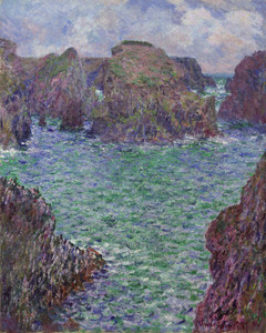 Art Prints of Port Goulphar-belle-lle by Claude Monet