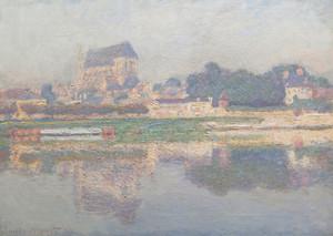 Art Prints of Church of Vernon Sun by Claude Monet