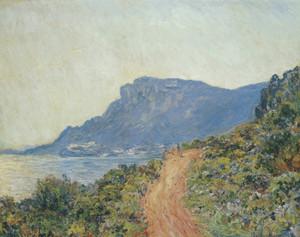 Art Prints of La Corniche near Monaco by Claude Monet