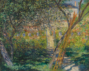 Art Prints of Le Jardin de Vetheuil by Claude Monet
