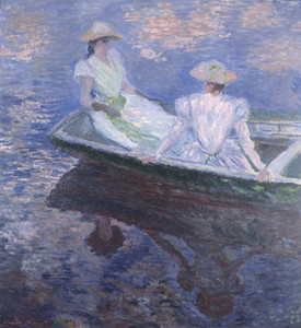 Art Prints of On the Boat by Claude Monet