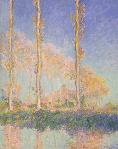 Art Prints of Poplars by Claude Monet