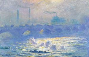 Art Prints of Waterloo Bridge II by Claude Monet