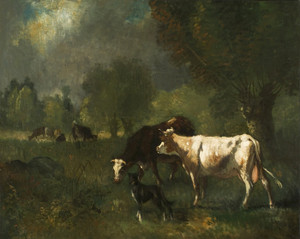 Art Prints of Cattle in Pasture by Constant Troyon
