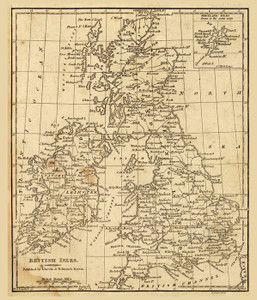 Art Prints of British Isles, 1819 (0004006) by Daniel Adams