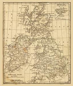 Art Prints of British Isles, 1819 (0004006) by Daniel Adams
