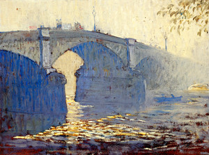 Art Prints of Battersea Bridge by Daniel Garber