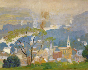 Art Prints of From Goat Hill by Daniel Garber