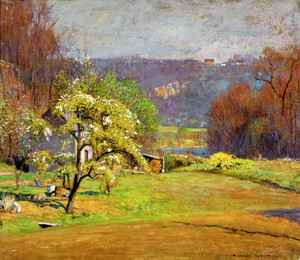 Art Prints of Emmon's Garden by Daniel Garber