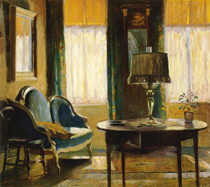 Art Prints of Living Room, Green Street by Daniel Garber