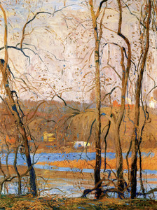 Art Prints of November Day by Daniel Garber
