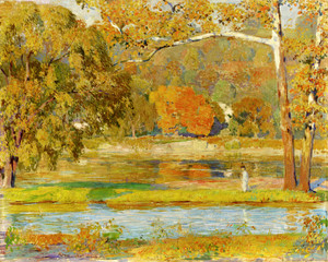 Art Prints of October Note by Daniel Garber