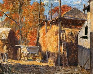 Art Prints of Straw Barracks by Daniel Garber