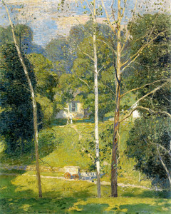 Art Prints of The Mary Maxwell House by Daniel Garber