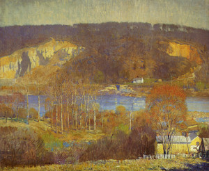 Art Prints of Tohicken Valley by Daniel Garber