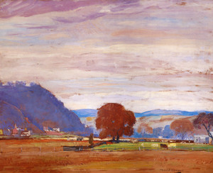 Art Prints of Up the Valley by Daniel Garber