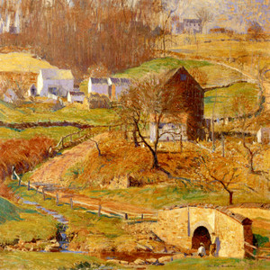 Art Prints of Winding Road Spring by Daniel Garber