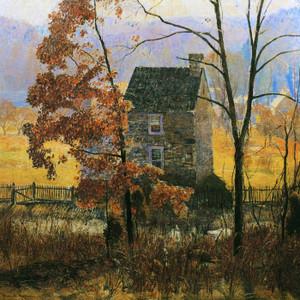 An Autumn Afternoon by Daniel Garber | Fine Art Print