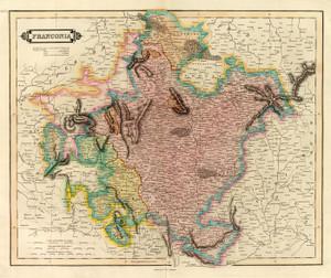 Art Prints of Franconia, 1831 (0436026) by Daniel Lizars