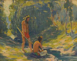 Art Prints of Sunlight by Eanger Irving Couse