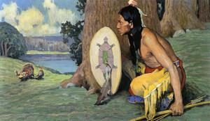 Art Prints of Tukey Hunter by Eanger Irving Couse