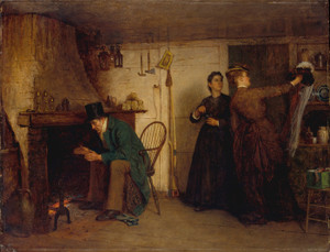 Art Prints of The New Bonnet by Eastman Johnson