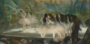 Art Prints of At the Paris Opera by Edgar Degas