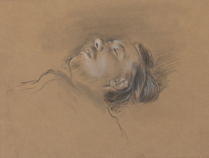 Art Prints of Head of the Fallen Jockey by Edgar Degas