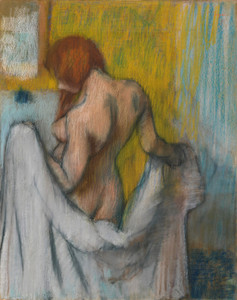 Art Prints of Woman with Towel by Edgar Degas