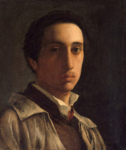 Art Prints of Self Portrait, 1855-56 by Edgar Degas